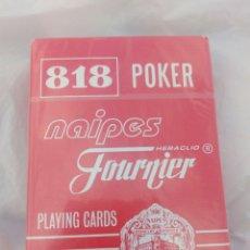 Barajas de cartas: BARAJA PÓKER 818 PLAYING CARDS,NUEVA SIN ABRIR. Lote 104597879