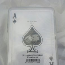 Barajas de cartas: BARAJA PÓKER MODELO TORO,NUEVA SIN ABRIR. Lote 104598967