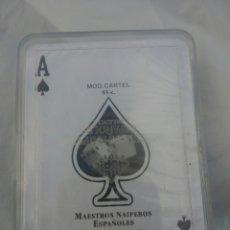 Barajas de cartas: BARAJA PÓKER MODELO CARTEL,NUEVA SIN ABRIR. Lote 104599348