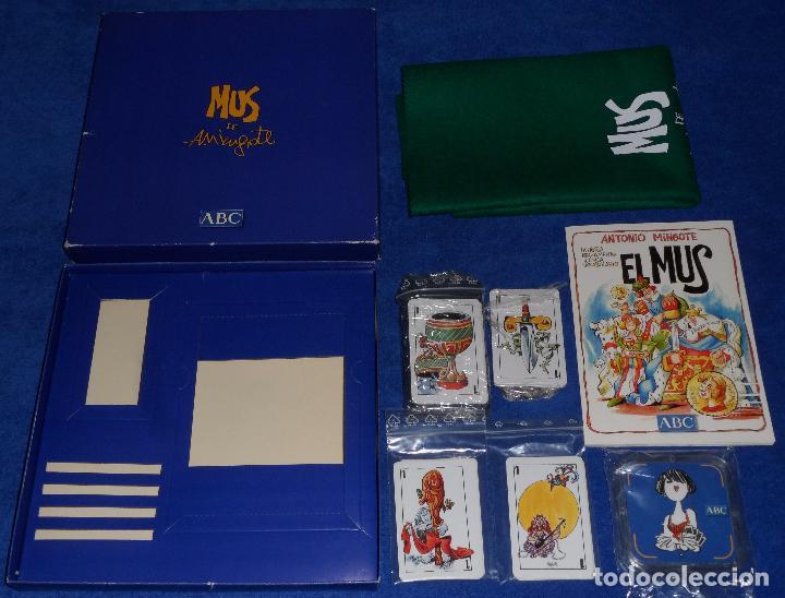 Barajas de cartas: Mus - Mingote - ABC ¡Precintado! - Foto 2 - 104638555