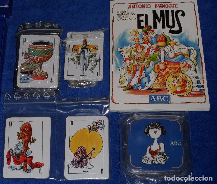 Barajas de cartas: Mus - Mingote - ABC ¡Precintado! - Foto 3 - 104638555