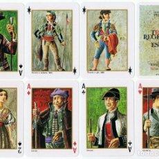 Barajas de cartas: BARAJAS TRAJES REGIONALES DE ESPAÑA DIBUJOS DE PERELLON . Lote 104707855