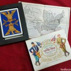 Barajas de cartas: BARAJA POKER AMERICAN CIVIL WAR DE 1981 H. FOURNIER. Lote 104801995