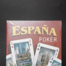 Barajas de cartas: 1 BARAJA POKER DE ** 200 ANIVERSARIO 1797 1997 - MONUMENTOS DE ESPAÑA ** COMAS -- 1997- PRECINTADA. Lote 104832295