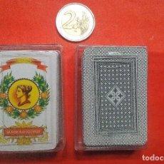 Barajas de cartas: BARAJA LILIPUT *ESPAÑOLA* EN CAJA METRAQUILATO. Lote 188610713
