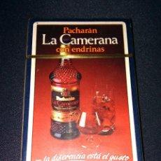 Barajas de cartas: BARAJA ESPAÑOLA PUBLICITARIA PRECINTADA DE PACHARÁN LA CAMERANA CON ENDRINAS HERACLIO FOURNIER. Lote 104917247