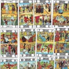 Barajas de cartas: BARAJA DE COLECCION DE ARCANOS Y CABALLOS DEL JUEGO DEL TAROT DE FOURNIER VER FOTOS. Lote 104933563