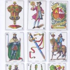 Barajas de cartas: CONJUNTO DE BARAJAS ESPAÑOLAS MODERNISTA E INFANTIL. Lote 94169030