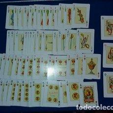 Barajas de cartas: BARAJAS DE CARTA FRANCESA Y ESPAÑOLA EN EL MISMO MASO HERACLIO FOURNIER.. Lote 105075499