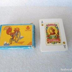 Barajas de cartas: BARAJA FOURNIER PUBLICIDAD CAJA POSTAL. Lote 105081003
