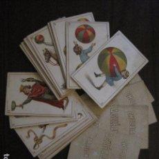 Barajas de cartas: BARAJA NIÑOS JUGANDO - COMPLETA 48 CROMO CARTAS-CHOCOLATE SOLE ALSINA - VER FOTOS - (V-12.852). Lote 105190731