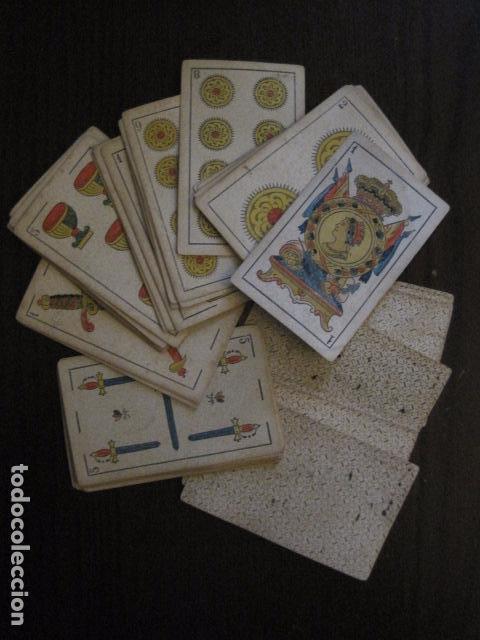 BARAJA TORRAS Y LLEO - BARCELONA - COMPLETA 48 CARTAS - VER FOTOS - (V-12.854) (Juguetes y Juegos - Cartas y Naipes - Otras Barajas)