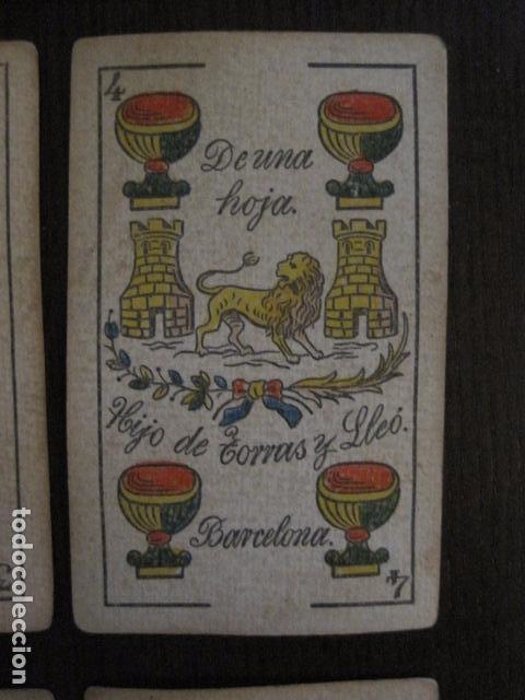 Barajas de cartas: BARAJA TORRAS Y LLEO - BARCELONA - COMPLETA 48 CARTAS - VER FOTOS - (V-12.854) - Foto 6 - 105191299