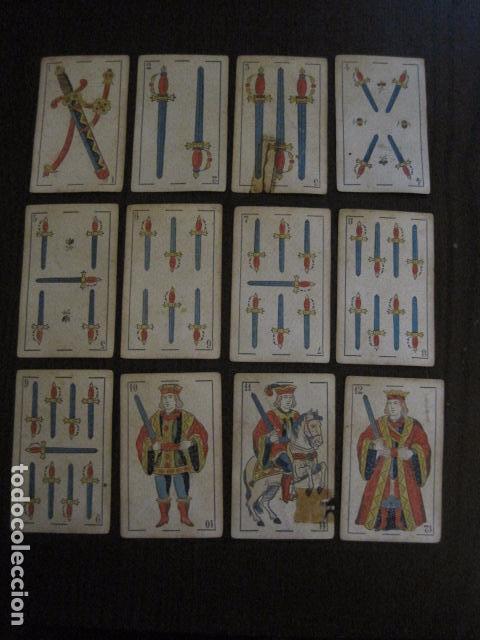 Barajas de cartas: BARAJA TORRAS Y LLEO - BARCELONA - COMPLETA 48 CARTAS - VER FOTOS - (V-12.854) - Foto 8 - 105191299