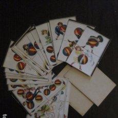 Barajas de cartas: BARAJA DOMINO NIÑOS JUGANDO - COMPLETA 28 CARTAS FICHA DOMINO - MUY ANTIGUO- VER FOTOS - (CR-1040). Lote 105191991