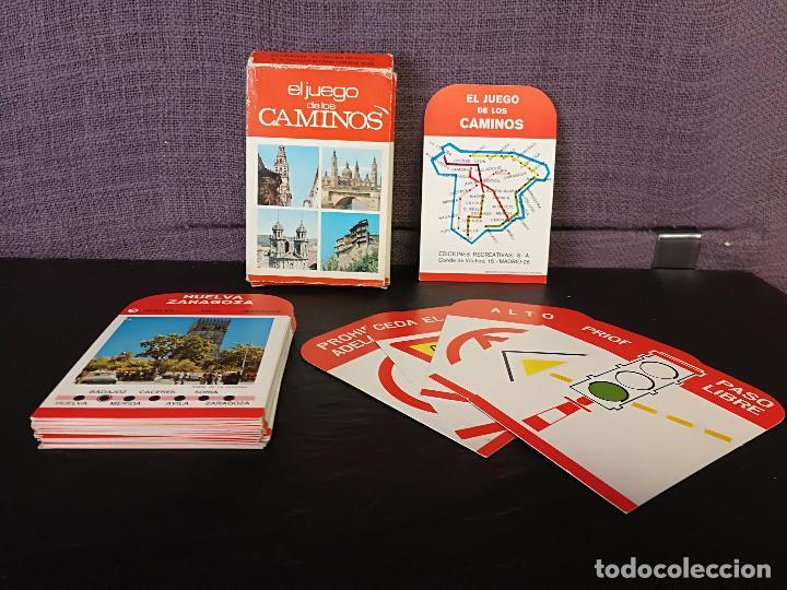 BARAJA EL JUEGO DE LOS CAMINOS EDICIONES RECREATIVAS (Juguetes y Juegos - Cartas y Naipes - Barajas Infantiles)
