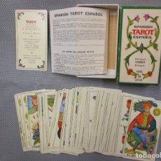 Barajas de cartas: BARAJA SPANISH TAROT ESPAÑOL, COMPLETA 78 CARTAS 1975 + INSTRUCCIONES. FOURNIER + INFO. Lote 105289507