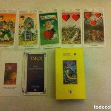 Barajas de cartas: TAROT DE LOS DUENDES - 78 CARTAS NUEVAS. Lote 105462483