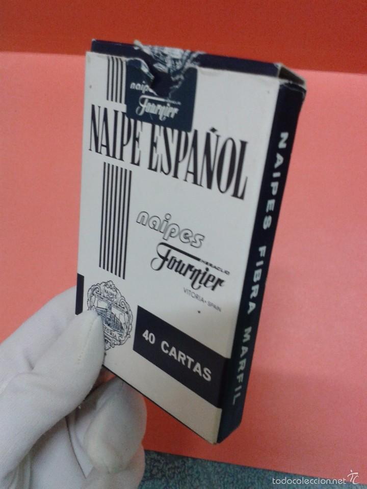 Barajas de cartas: Baraja española 40 cartas Fournier publicidad Cadena COPE - Foto 2 - 56520746