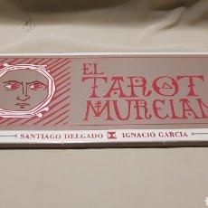 Barajas de cartas: EL TAROT MURCIANO POR SANTIAGO DELGADO E IGNACIO GARCÍA . 1989 . NUEVO. Lote 105556771