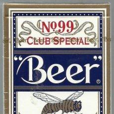 Barajas de cartas: BARAJA DE POKER CLUB SPECIAL BEER Nº 99 - NUEVA. Lote 105622327