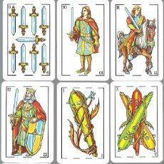 Barajas de cartas: BARAJA ESPAÑOLA MAESTROS NAIPEROS AZAHAR - NUEVA EN SU CAJA DE METACRILATO. Lote 105622775