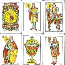 Barajas de cartas: BARAJA ESPAÑOLA MAESTROS NAIPEROS AZAHAR - NUEVA EN SU CAJA DE METACRILATO. Lote 105622831