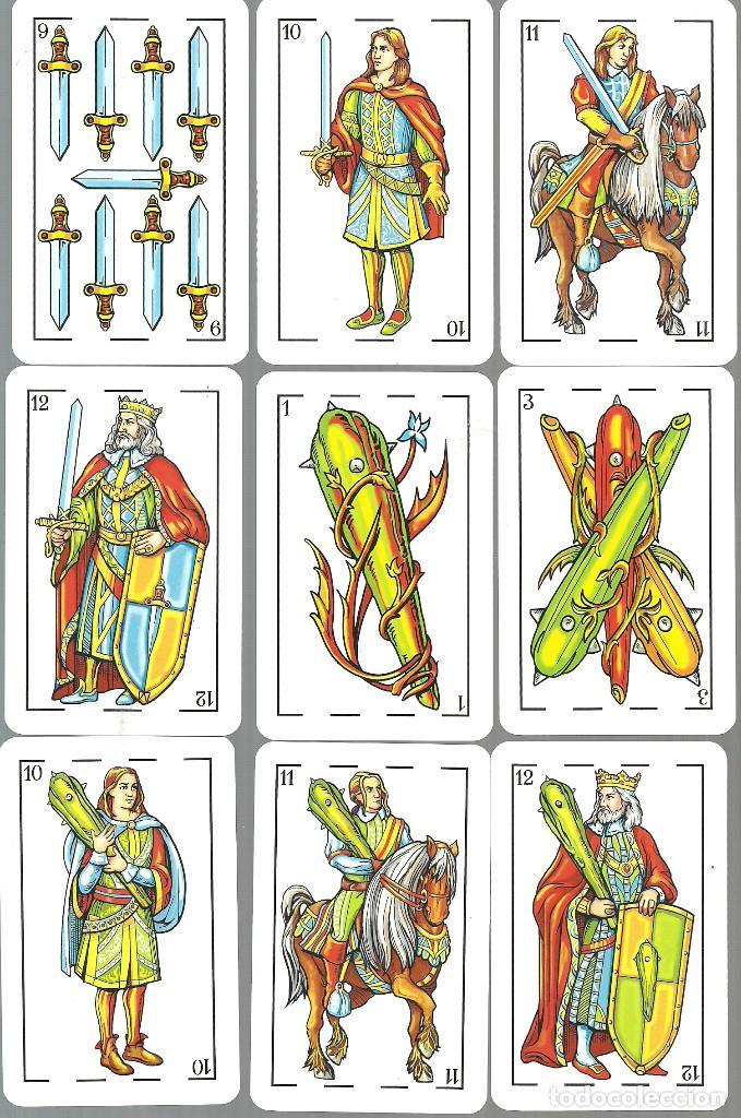 Barajas de cartas: BARAJA ESPAÑOLA MAESTROS NAIPEROS AZAHAR - NUEVA EN SU CAJA DE METACRILATO - Foto 2 - 105622831