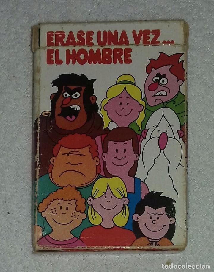 BARAJA DE CARTAS ERASE UNA VEZ EL HOMBRE (Juguetes y Juegos - Cartas y Naipes - Barajas Infantiles)