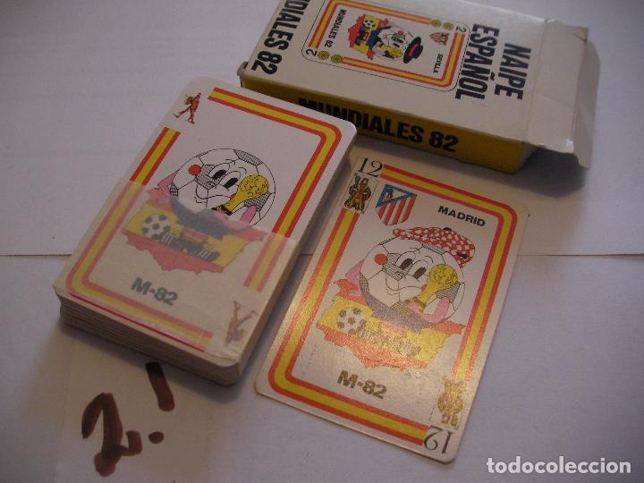ANTIGUO JUEGO DE CARTAS MUNDIAL 82 NUEVAS SIN USAR (Juguetes y Juegos - Cartas y Naipes - Otras Barajas)