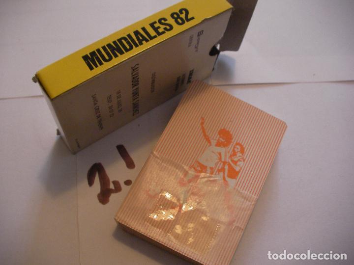 Barajas de cartas: ANTIGUO JUEGO DE CARTAS MUNDIAL 82 NUEVAS SIN USAR - Foto 2 - 105681811