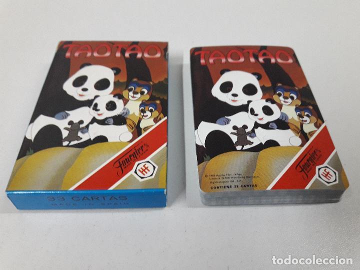 Barajas de cartas: BARAJA INFANTIL TAOTAO . REALIZADA POR FOURNIER . AÑOS 80 - Foto 3 - 105749579