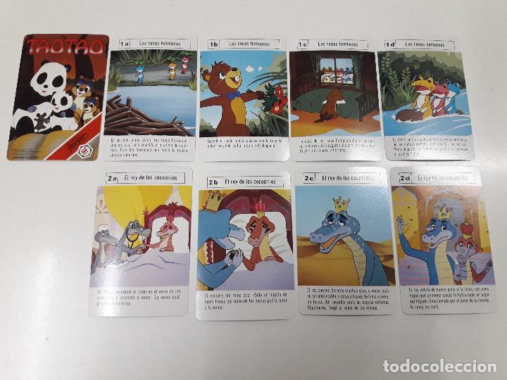Barajas de cartas: BARAJA INFANTIL TAOTAO . REALIZADA POR FOURNIER . AÑOS 80 - Foto 4 - 105749579