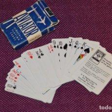 Barajas de cartas: PRECIOSA BARAJA DE CARTAS - AVIATOR - PINOCHLE BY BYCICLE - COMPLETA - HAZ OFERTA. Lote 105847563
