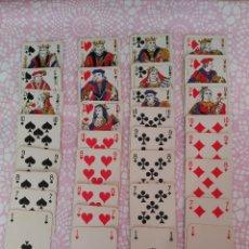 Barajas de cartas: BARAJA FRANCESA MANILLE BELOTE AÑOS 50. Lote 105878423