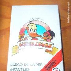 Barajas de cartas: ALFRED J. KWAK - BARAJA DE CARTAS NUEVA Y COMPLETA HERACLIO FOURNIER . Lote 105927963