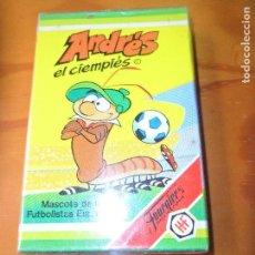 Barajas de cartas: ANDRES EL CIEMPIES, MUNDIAL FUTBOL 82 - BARAJA DE CARTAS NUEVA Y COMPLETA HERACLIO FOURNIER . Lote 105928047
