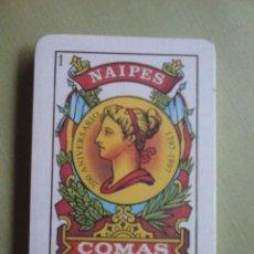 Barajas de cartas: BARAJA ESPAÑOLA NAIPES COMAS Nº 57. PRECINTADA. NUEVA. Lote 106092671