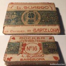 Barajas de cartas: BARAJA DE NAIPES ANTIGUA. Lote 106187563