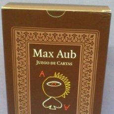 Barajas de cartas: MAX AUB - JUEGO DE CARTAS - DIBUJOS DE JUSEP TORRES CAMPALANS . Lote 106284543