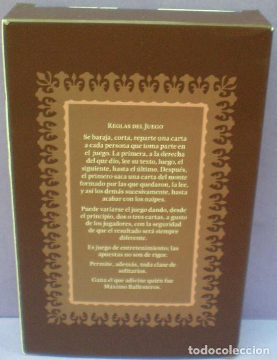 Barajas de cartas: Max Aub - Juego de Cartas - Dibujos de Jusep Torres Campalans - Foto 3 - 106284543