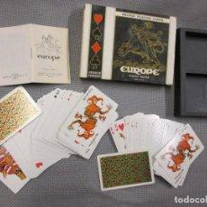 Barajas de cartas: BARAJA ' BRIDGE PLAYING CARDS EUROPE ' DE FOURNIER. Lote 106335007