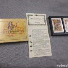 Barajas de cartas: BARAJA 'ANCIENT CIVILISATIONS ' - HERACLIO FOURNIER VITORIA - 2 JUEGOS COMPLETOS - PRECINTADA + INFO. Lote 106342431