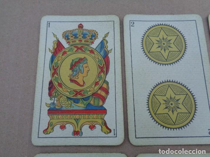Barajas de cartas: BARAJA SEBASTIAN COMAS Y RICART, COMPLETA, 48 NAIPES., TIMBRE 30 CENTIMOS. REVERSO AZUL - Foto 2 - 106579827