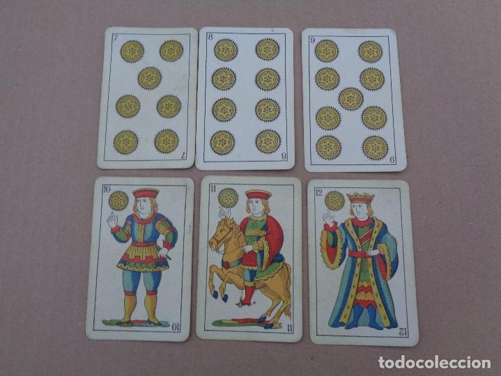 Barajas de cartas: BARAJA SEBASTIAN COMAS Y RICART, COMPLETA, 48 NAIPES., TIMBRE 30 CENTIMOS. REVERSO AZUL - Foto 4 - 106579827