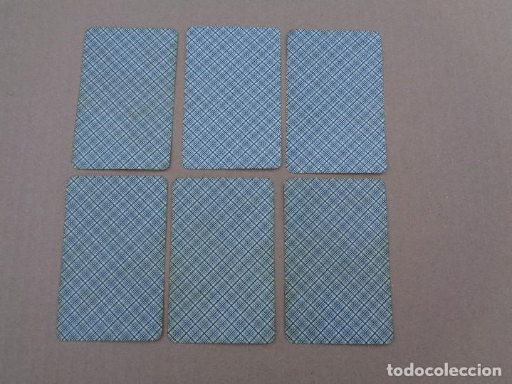 Barajas de cartas: BARAJA SEBASTIAN COMAS Y RICART, COMPLETA, 48 NAIPES., TIMBRE 30 CENTIMOS. REVERSO AZUL - Foto 5 - 106579827