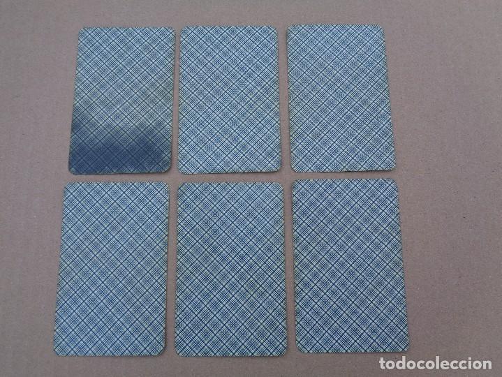 Barajas de cartas: BARAJA SEBASTIAN COMAS Y RICART, COMPLETA, 48 NAIPES., TIMBRE 30 CENTIMOS. REVERSO AZUL - Foto 7 - 106579827