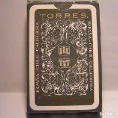 Barajas de cartas: BARAJA DE CARTAS (NAIPES COMAS ): DE POKER: BODEGAS TORRES - NUEVAS- ASSOCIACIO CATALANA DE BRIDGE. Lote 106894871