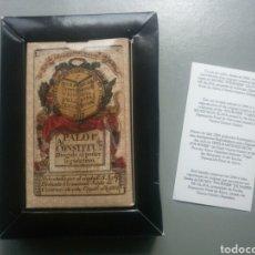 Barajas de cartas: BARAJA DE CARTAS DE LA CONSTITUCIÓN DE CÁDIZ ESPAÑA SIGLO XIX IMPRESAS EN 2004. Lote 106914255