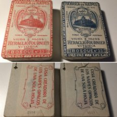 Barajas de cartas: BARAJAS DE NAIPES ANTIGUAS. Lote 106923480